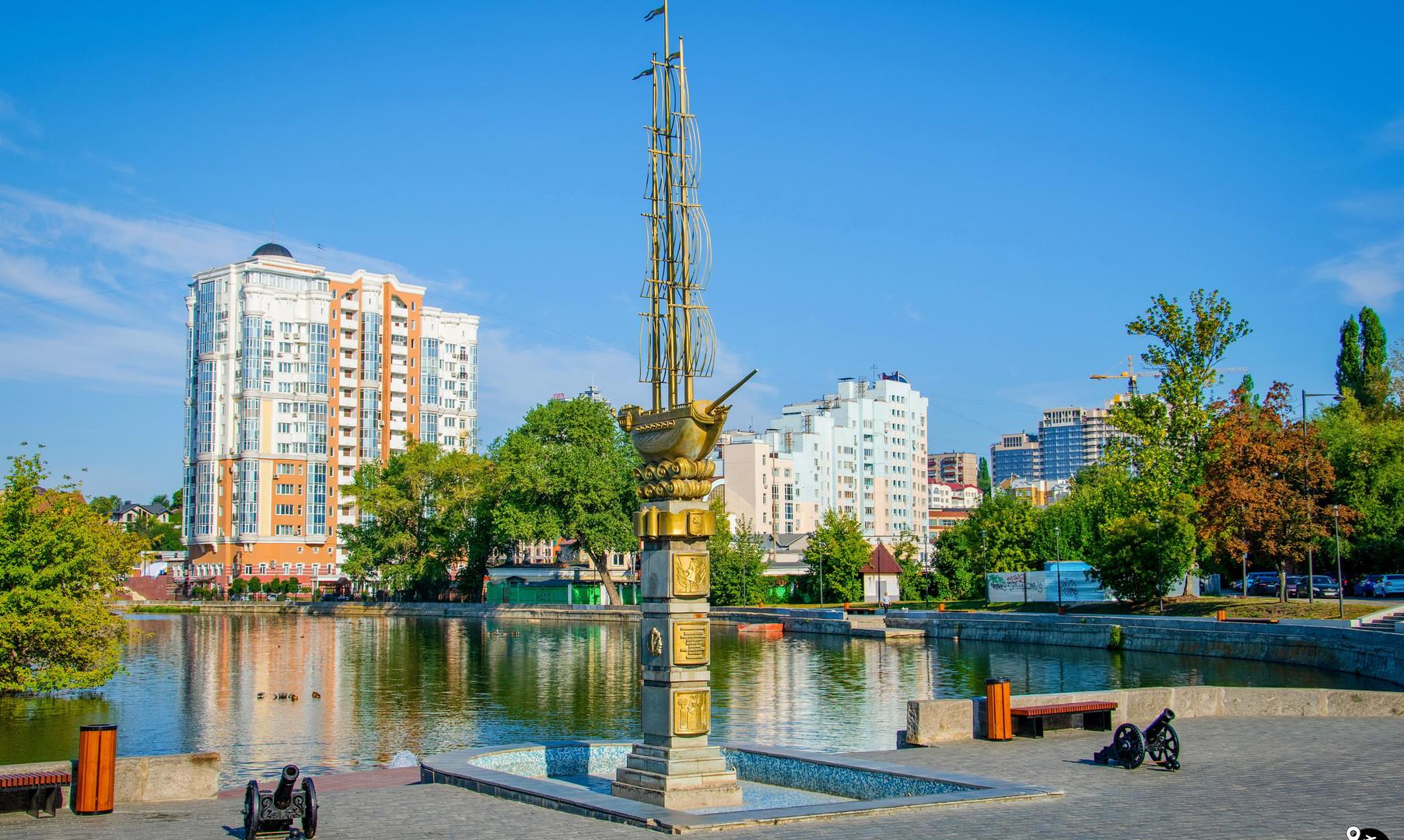 Комсомольский пруд, Липецк