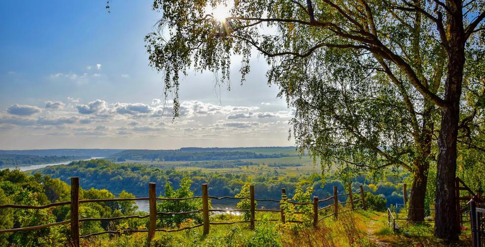 Пейзажи реки Оки, Тульская область