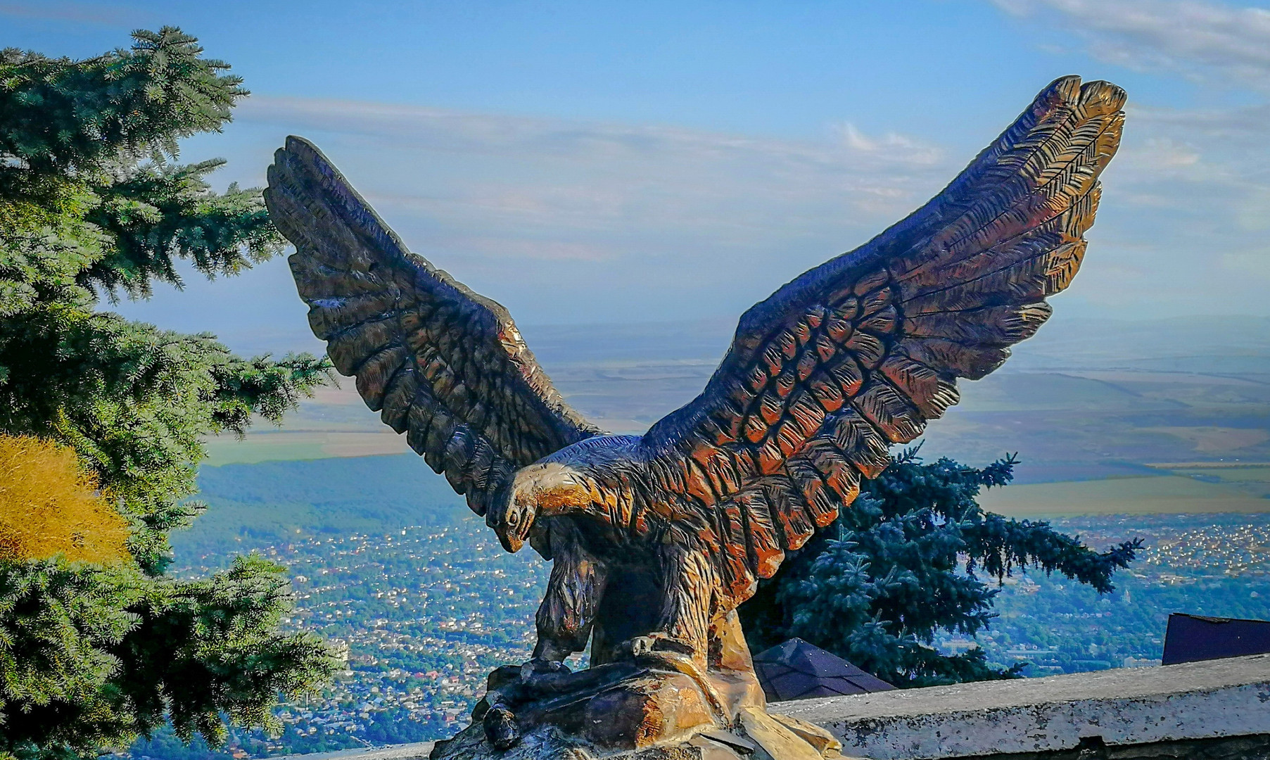 Символ Кавказа на горе Машук, Пятигорск