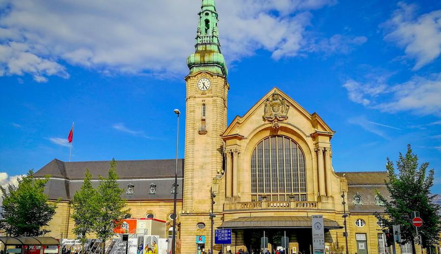 Жд вокзал Люксембурга