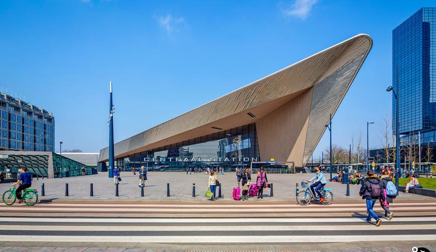 Центральный ж/д вокзал, Роттердам