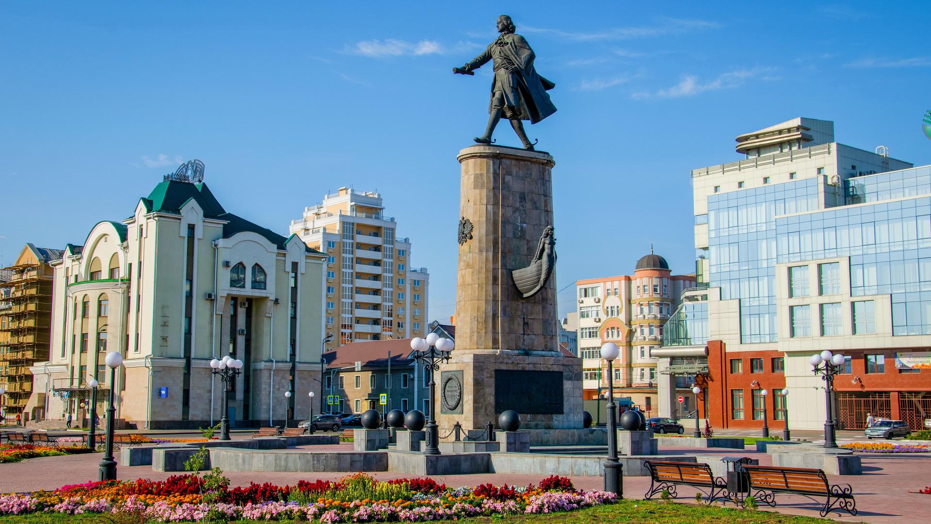 Памятник Петру I, Липецк