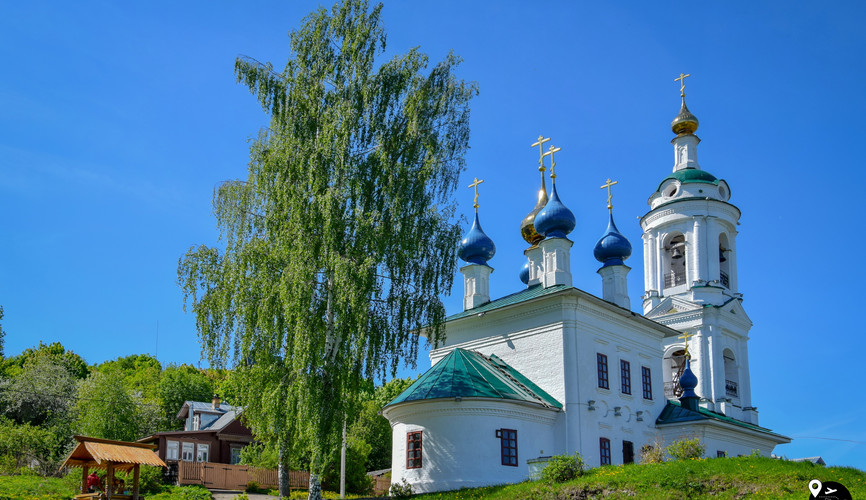 Варваринская церковь, Плес