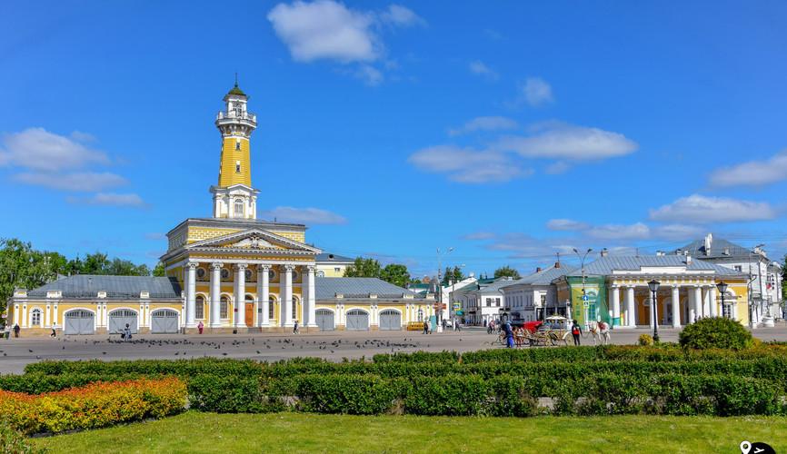 Сусанинская площадь, Кострома