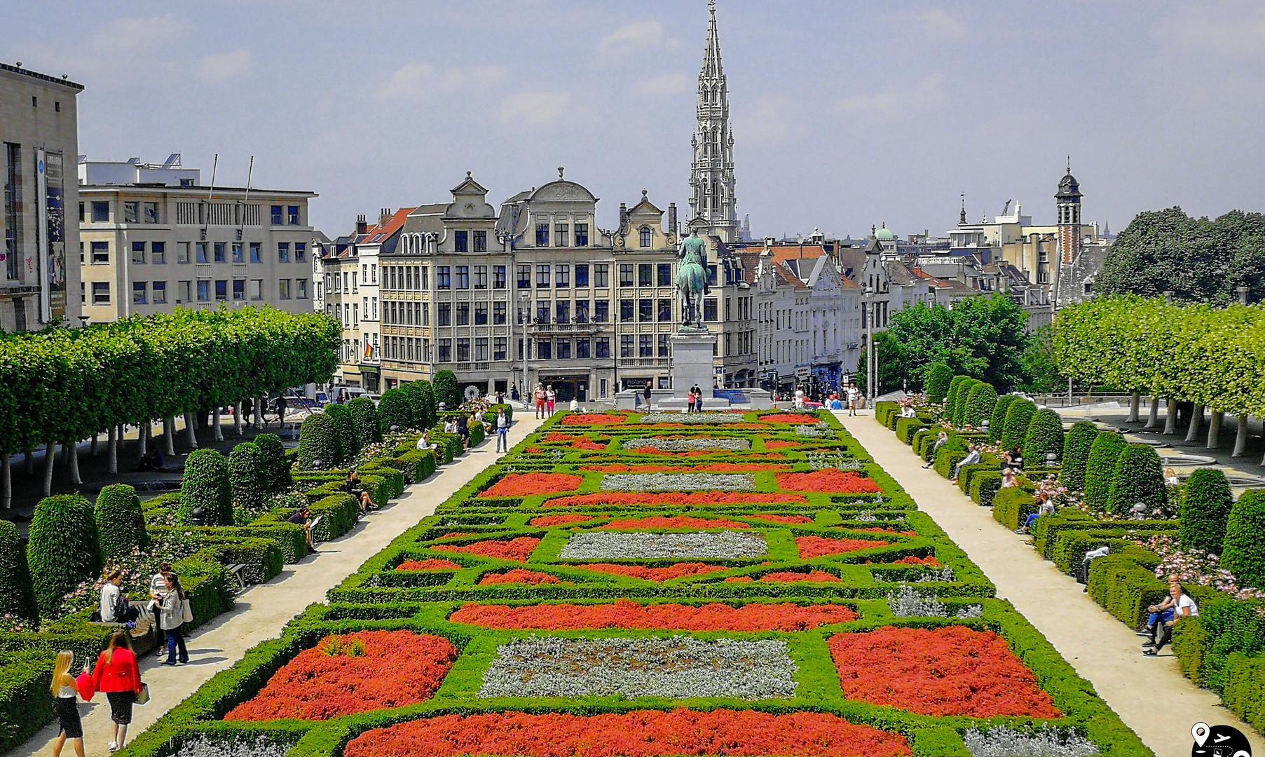 Королевский парк, Брюссель