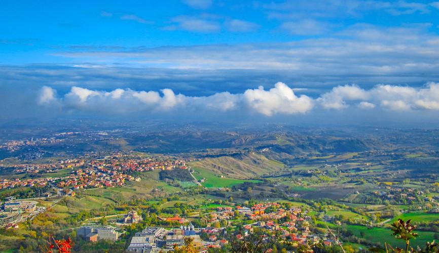 Панорама Сан-Марино