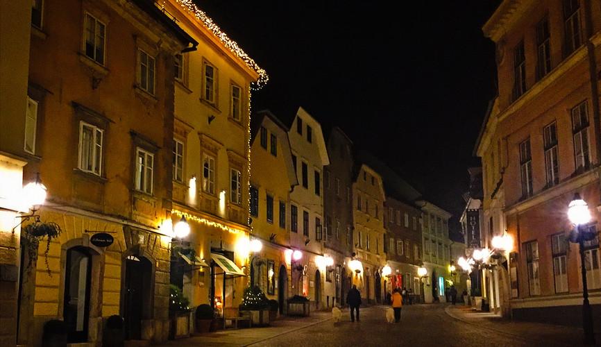 Старый город Любляны