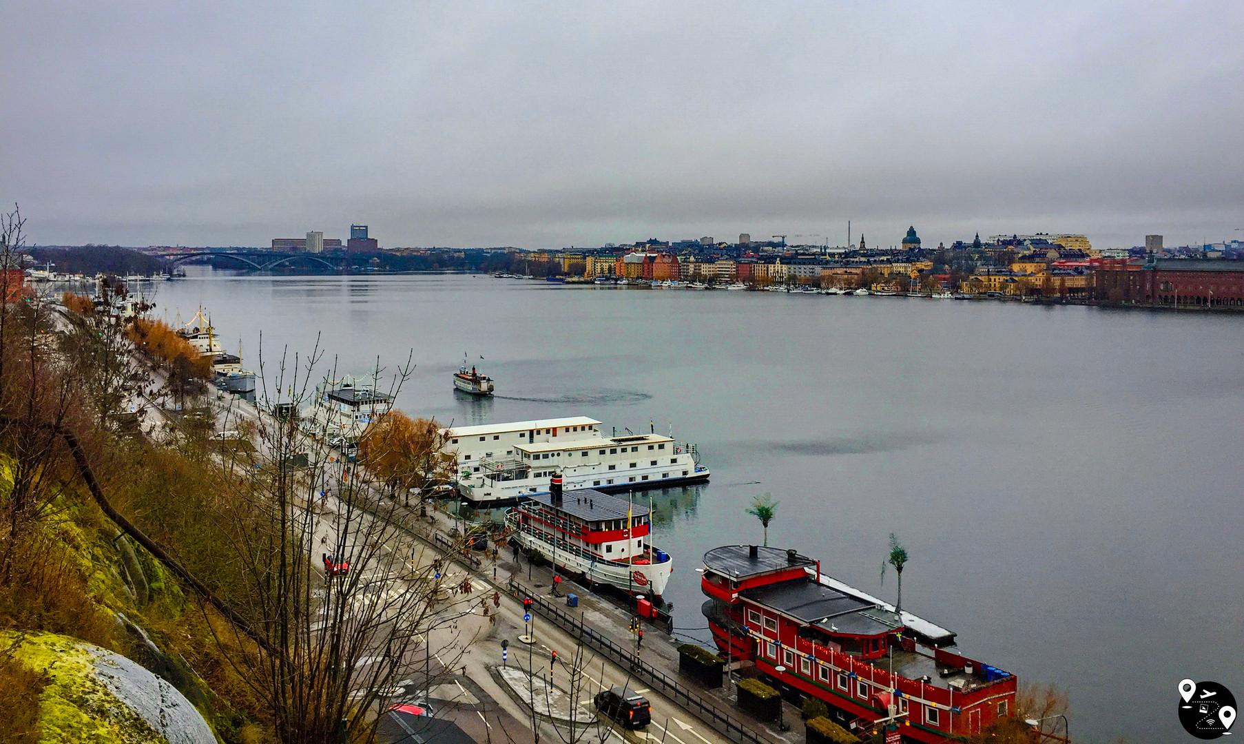 Смотровая площадка Мария в Стокгольме