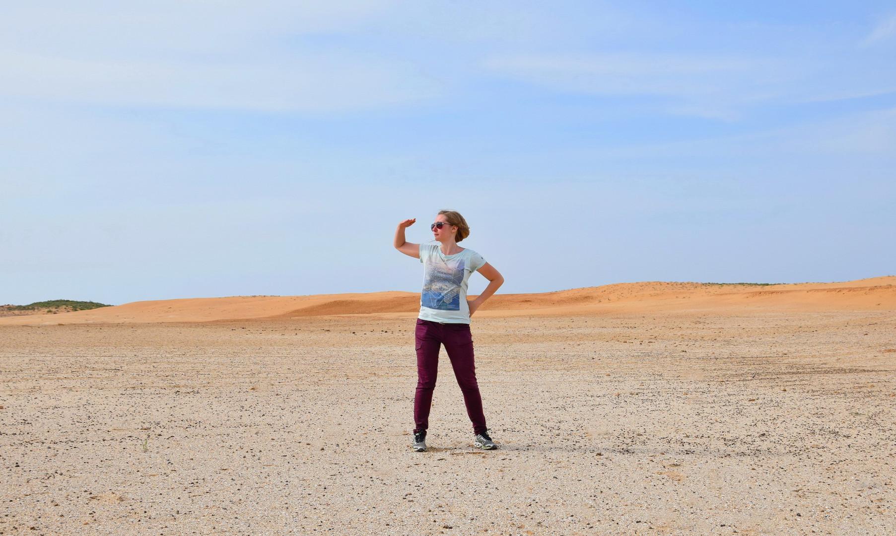Эстетика песчаных дюн в Калмыкии