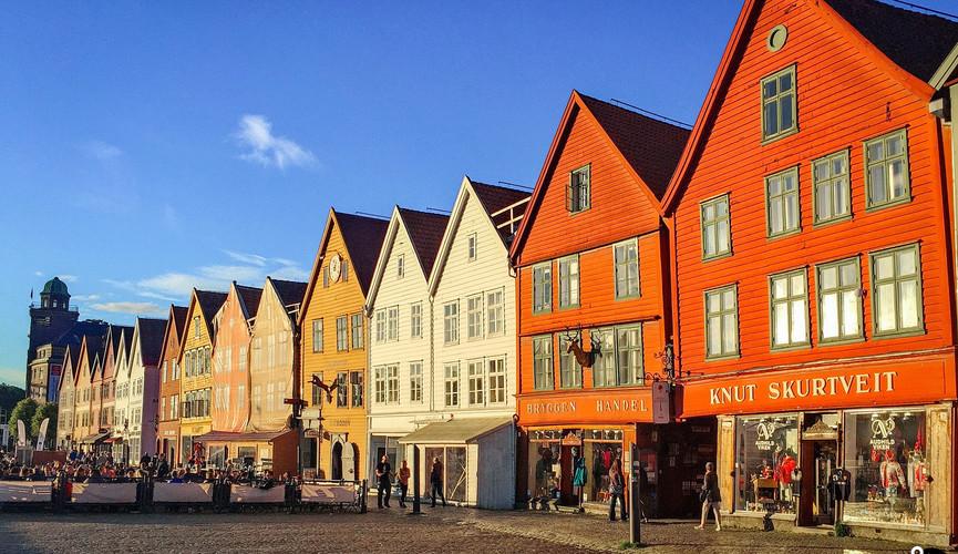 Старый порт Брюгген, Берген