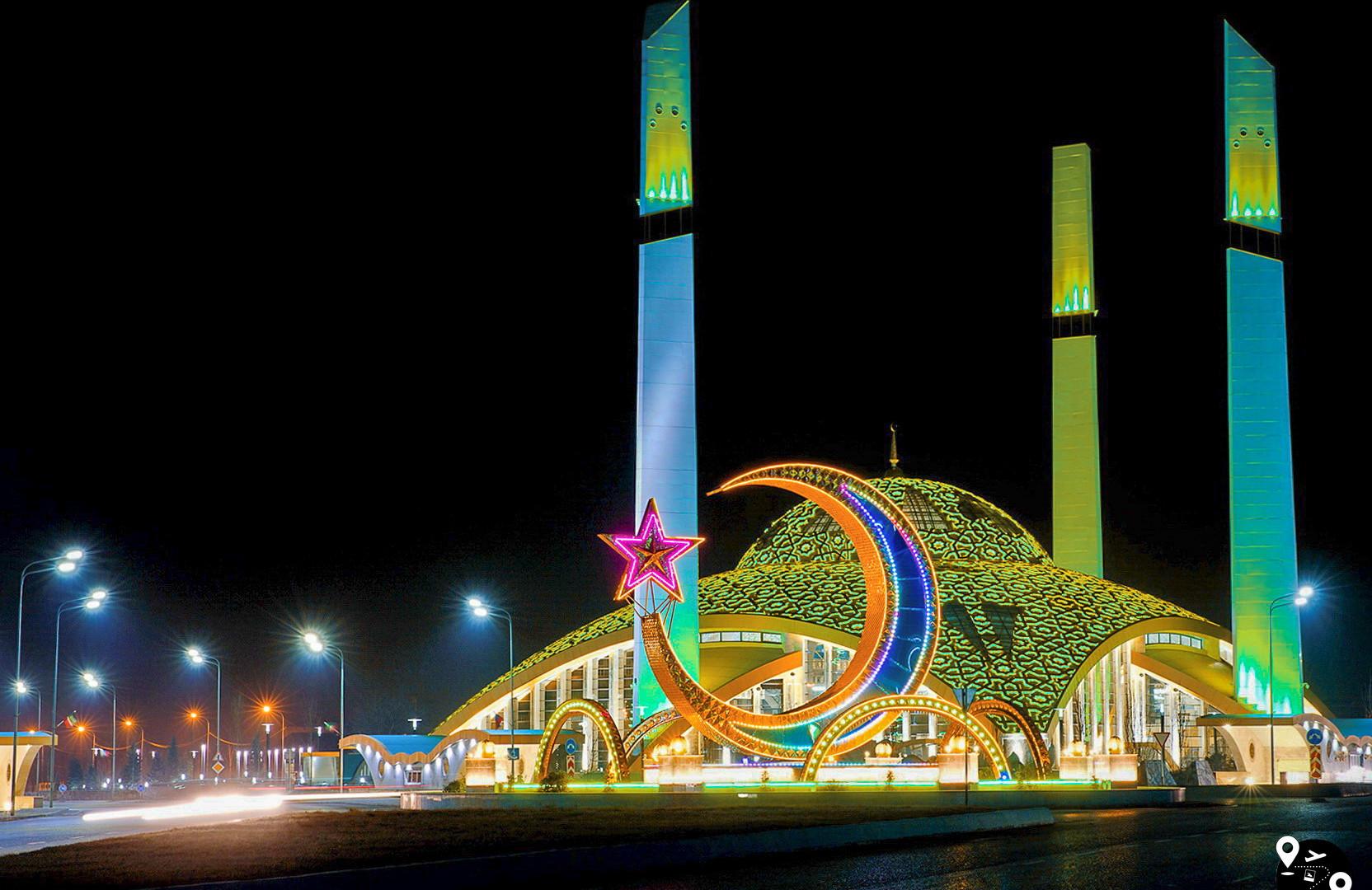 Мечеть им. Аймани Кадыровой, Аргун