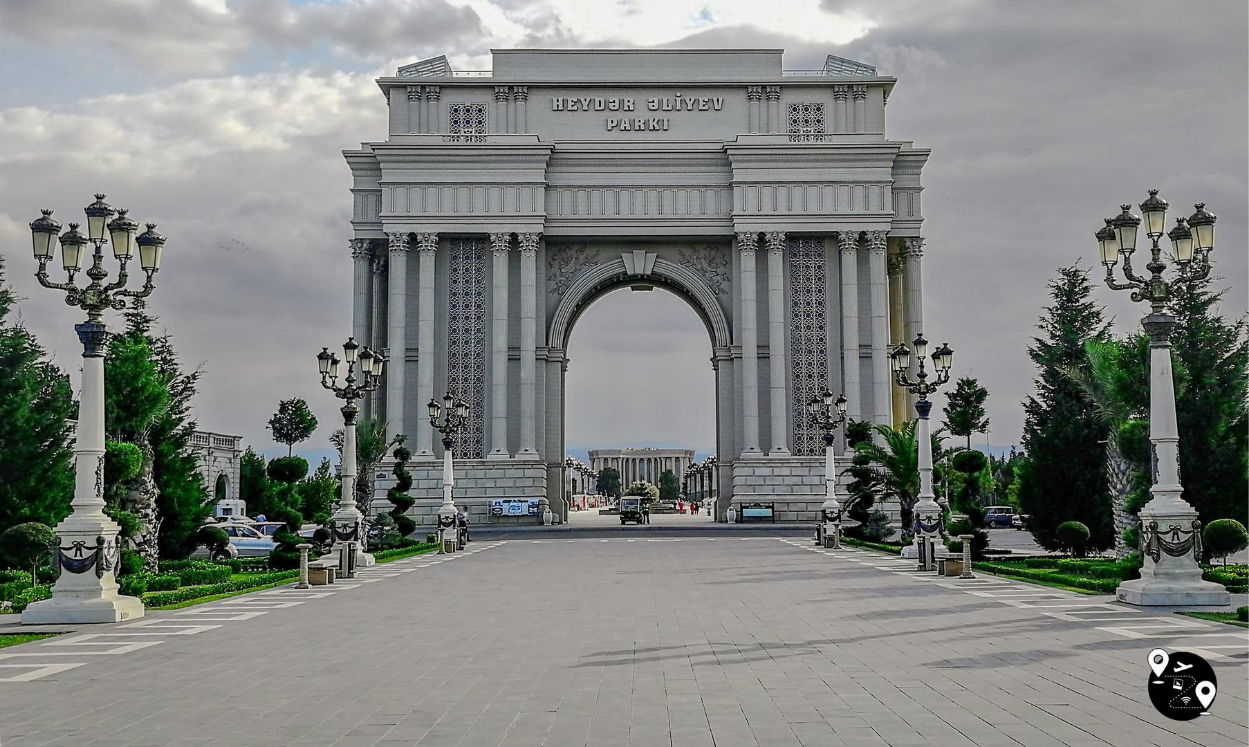 Арка Гейдара Алиева, Гянджа