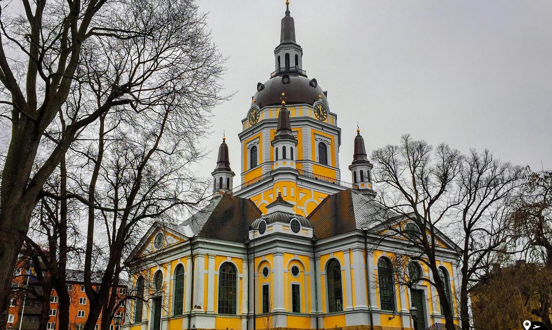 Церковь святой Софии, Стокгольм