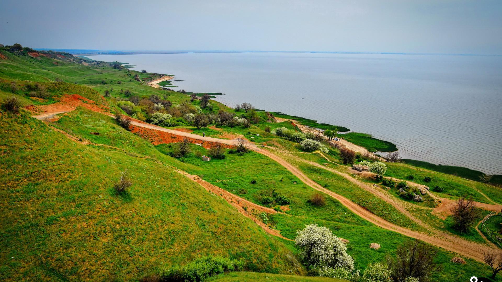Пейзажи Азовского моря, Мержаново