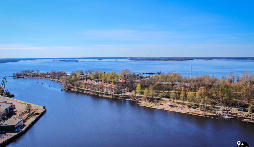 Финский залив, Выборг