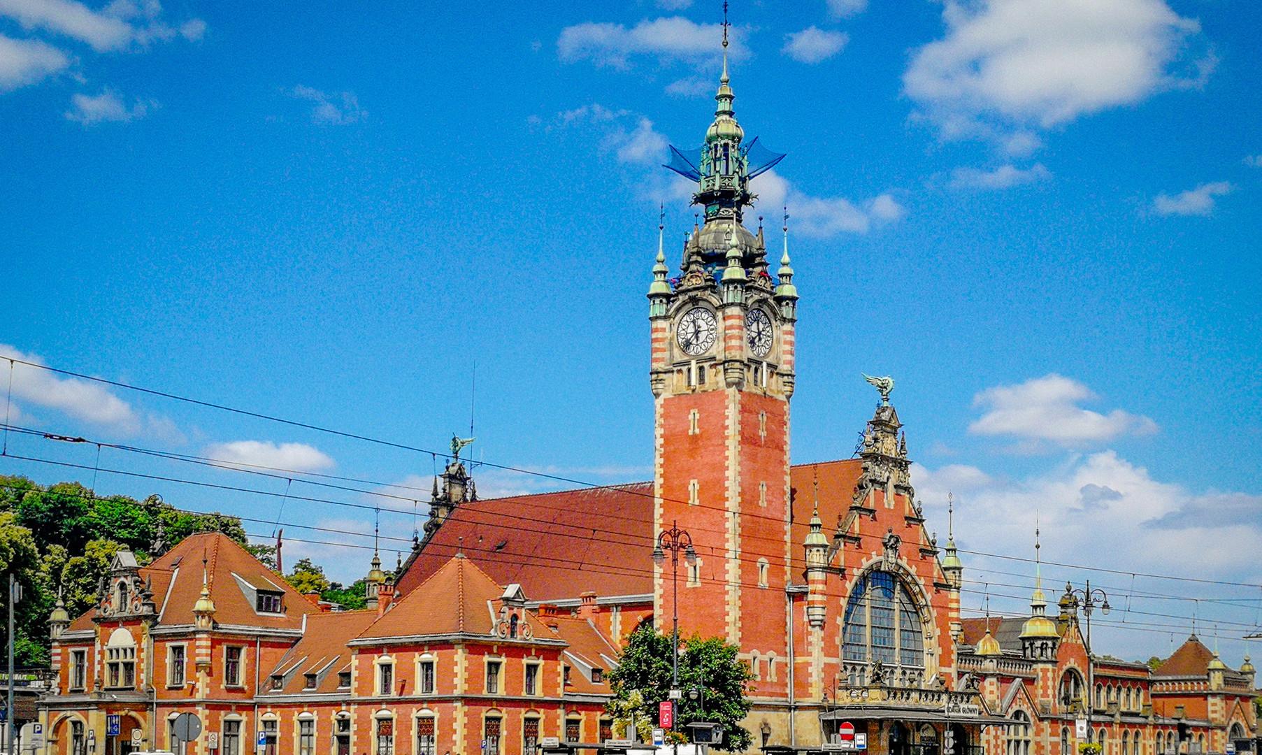 Жд вокзал Гданьска