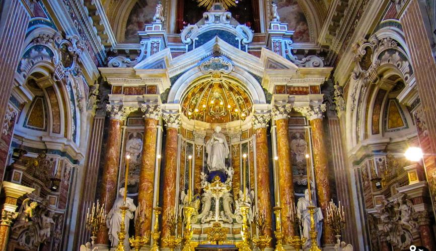 Церковь Джироламини, Неаполь