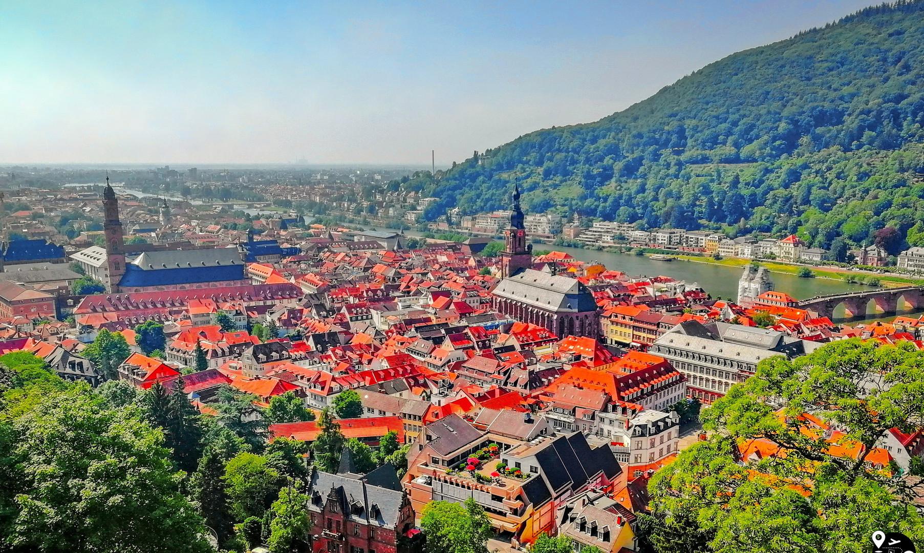 Панорама Гейдельберга