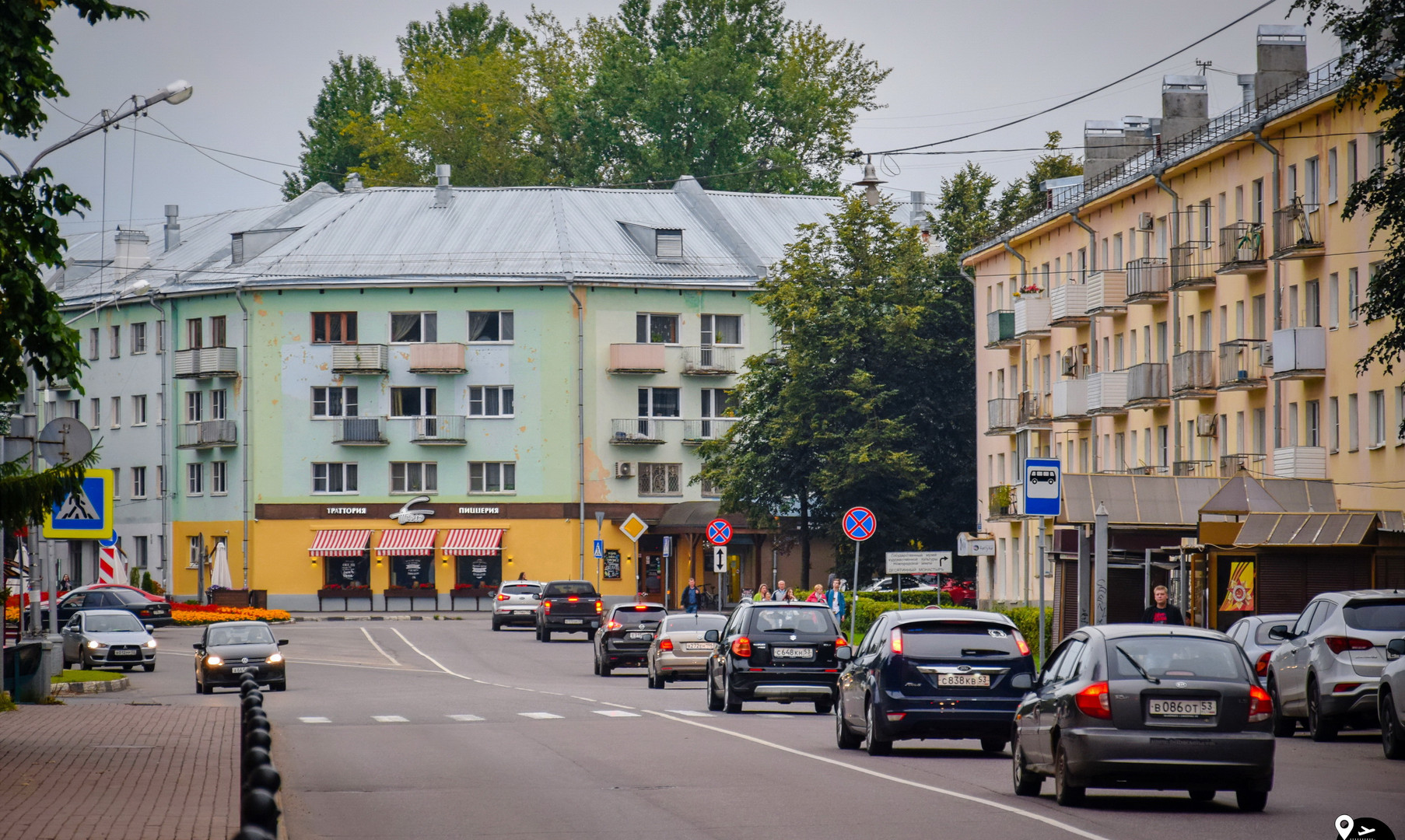 Центр города Великий Новгород