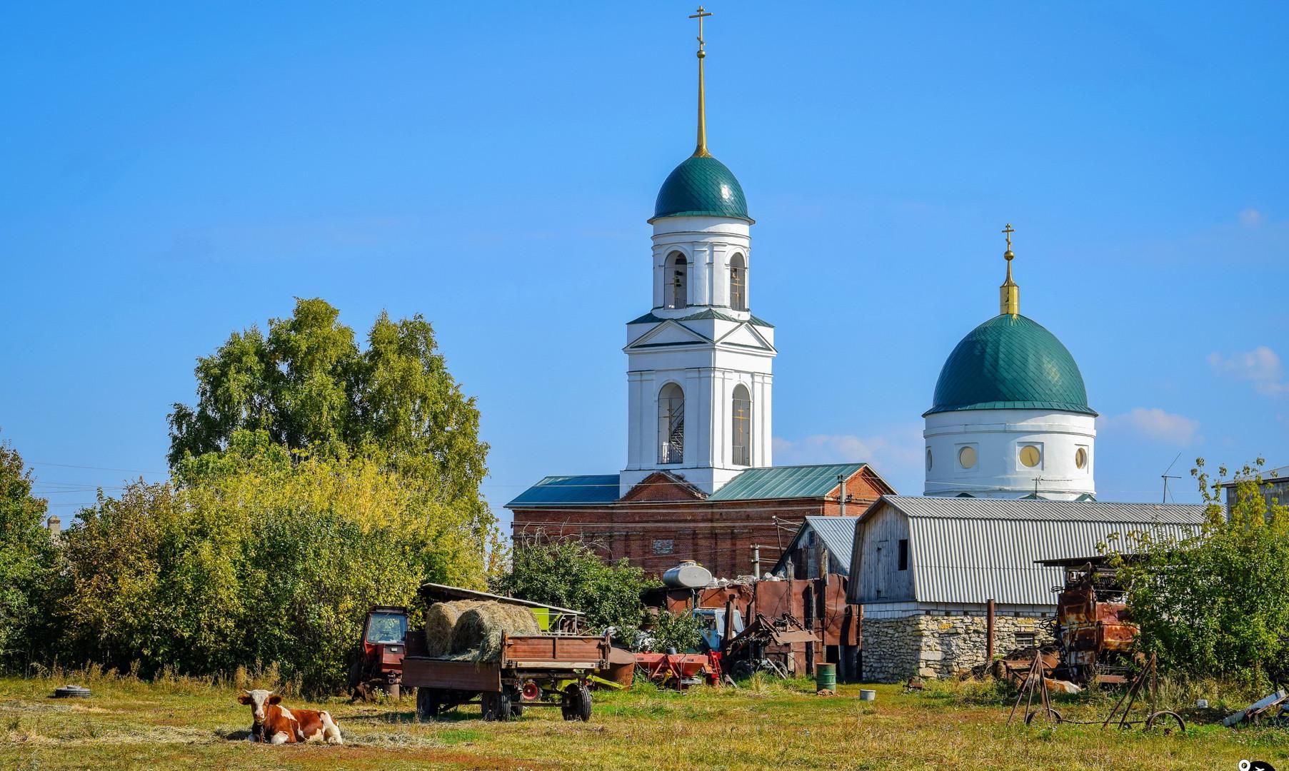 Деревня Тёплое, Липецкая область