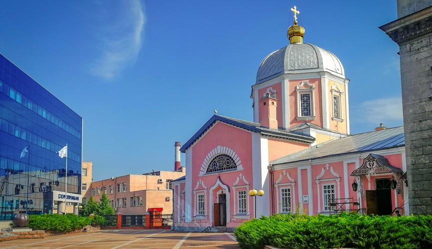 Воскресенско-Ильинская церковь, Курск