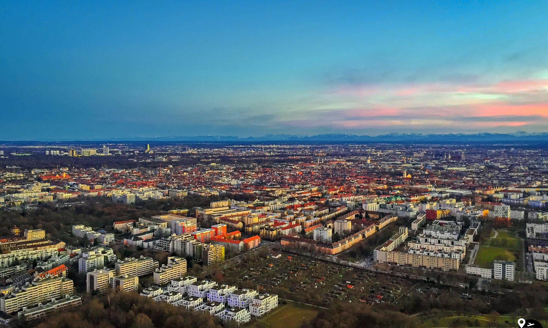 Панорама Мюнхена
