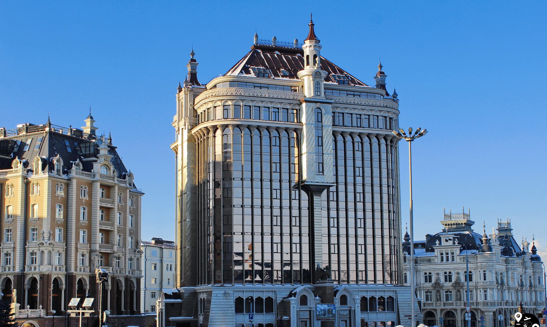 Центр города, Казань