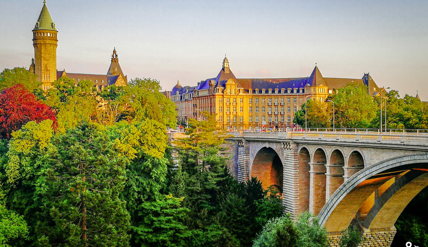 Мост Адольфа, Люксембург