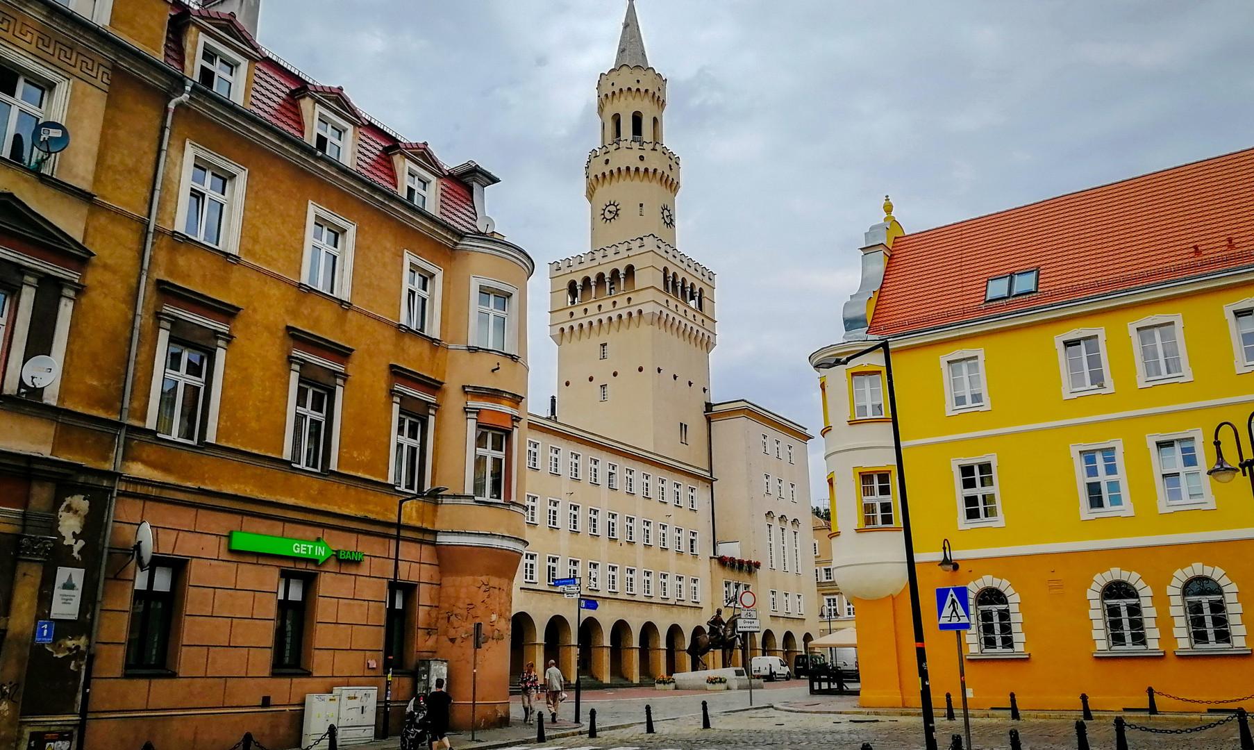 Городская ратуша в Ополе
