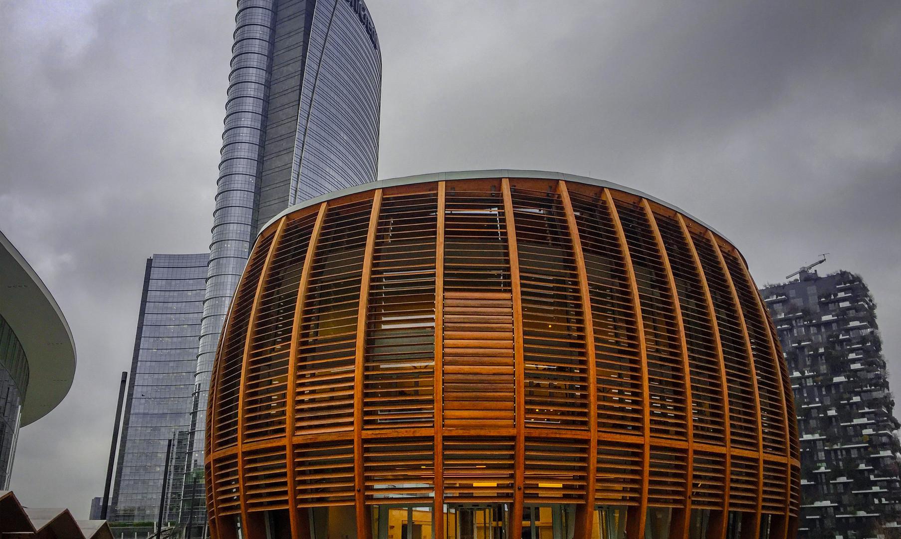 Бизнес-квартал в Милане