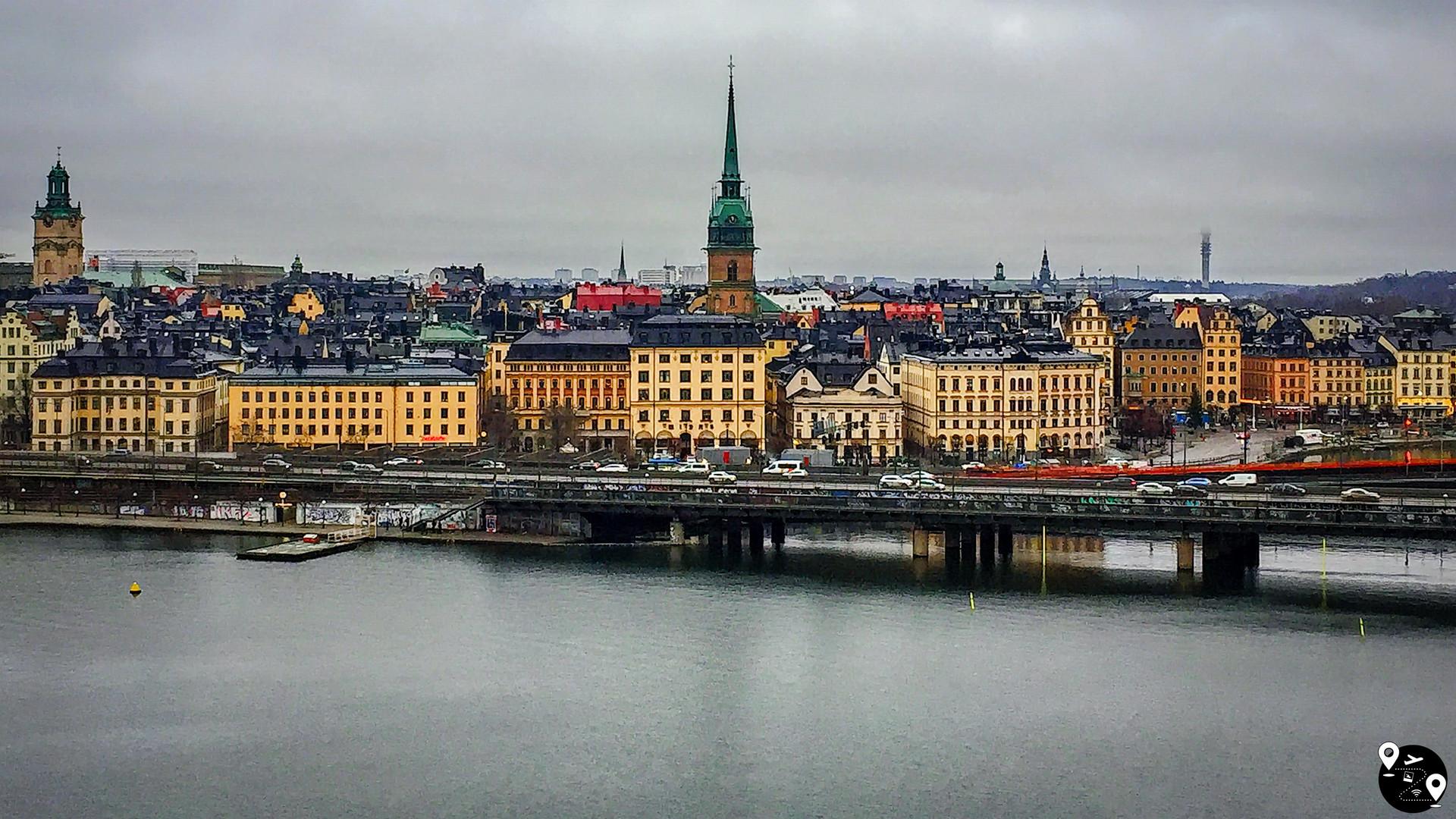 Панорама Стокгольма