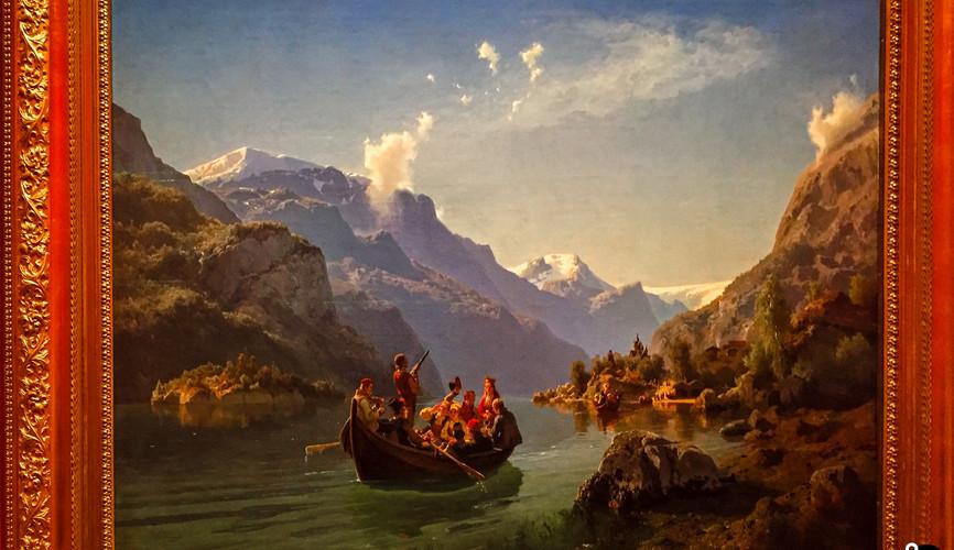 Художественное искусство Норвегии в Национальном музее, Осло