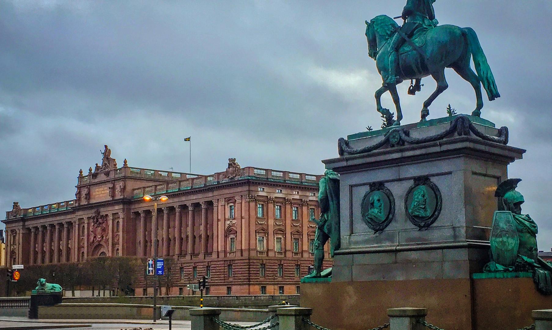 Площадь Густава Адольфа, Стокгольм