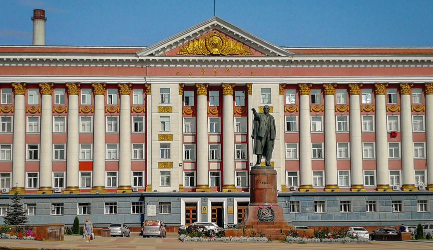 Дом советов, Курск