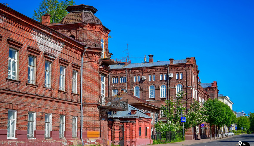 Kostroma city center