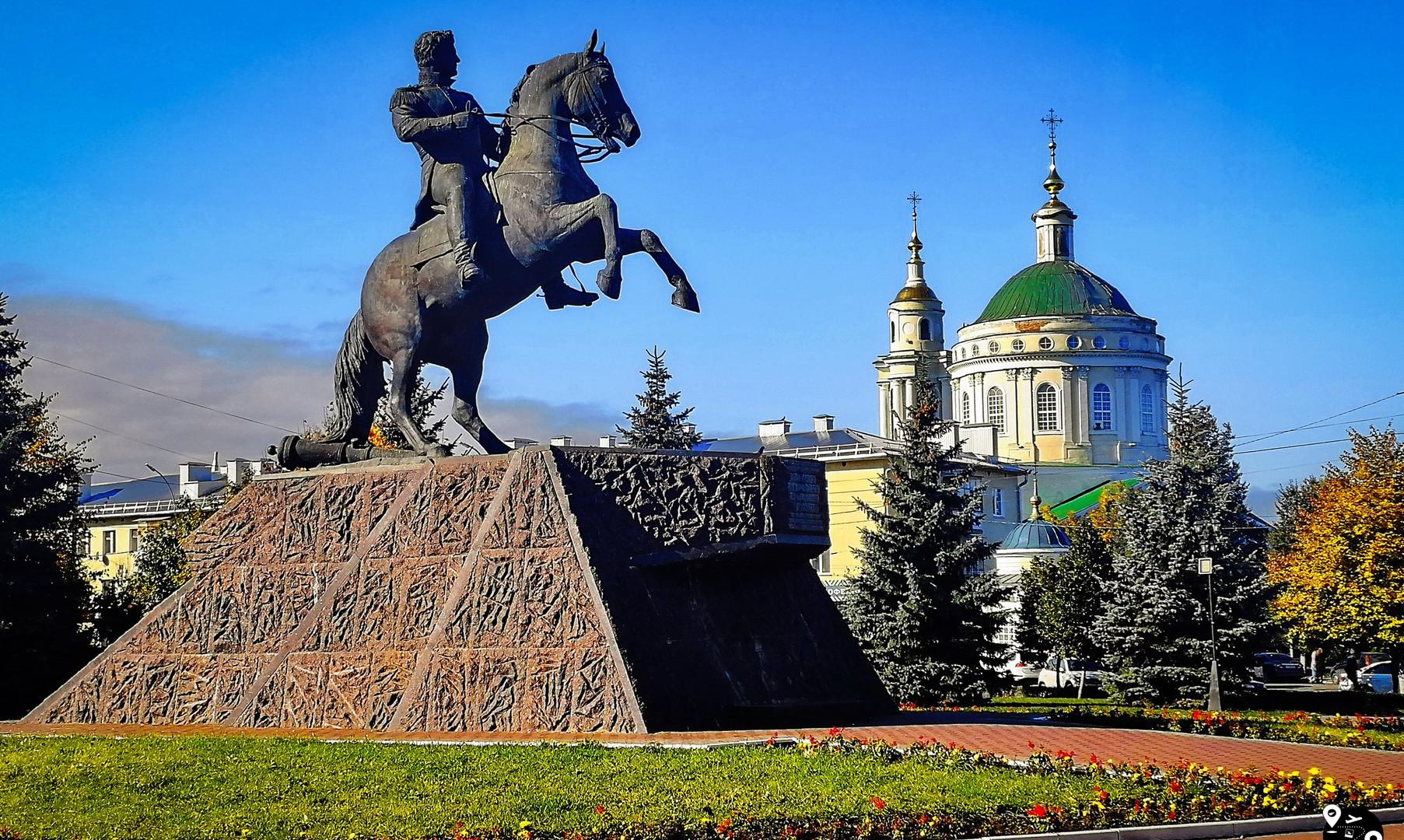 сквер Ермолова, Орёл