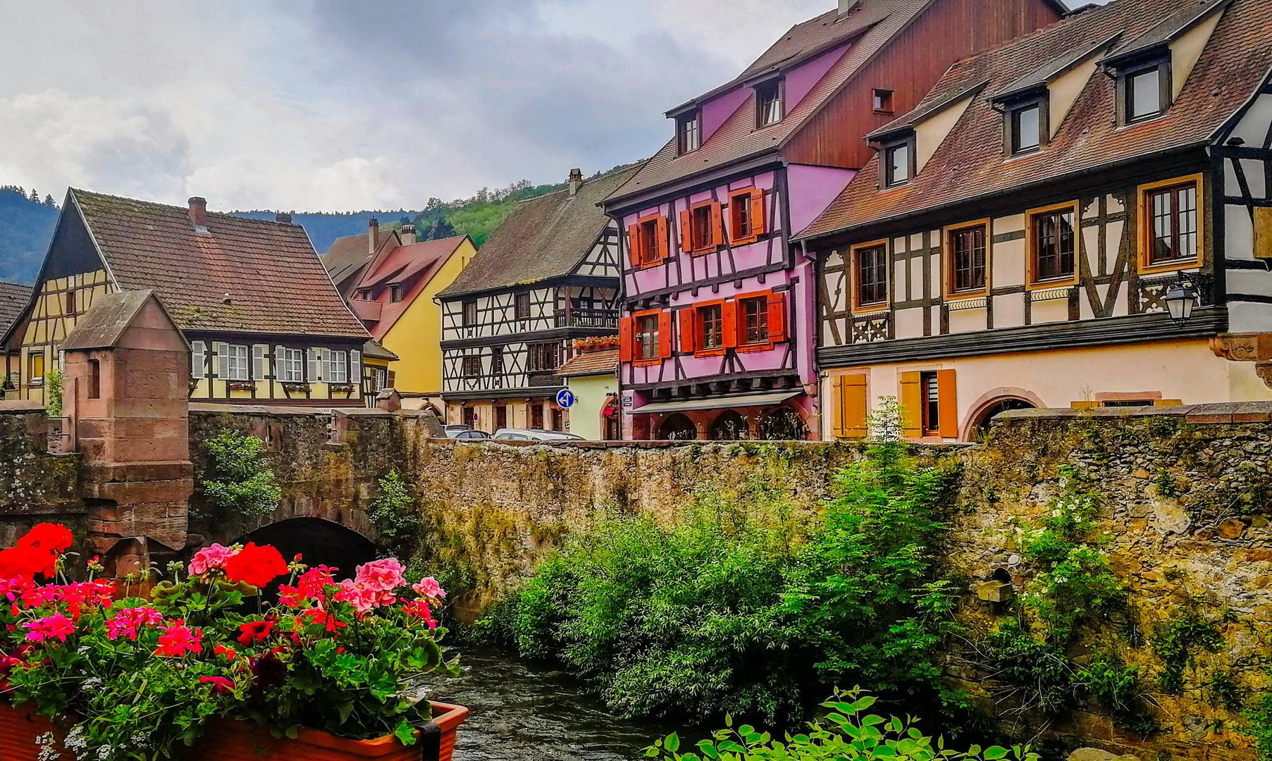 Деревня Кайзерсберг, Эльзас