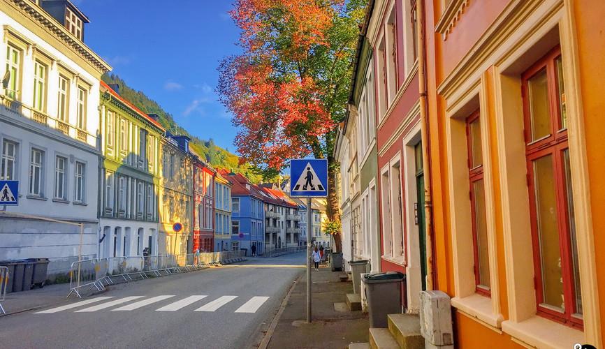 Старый город Берген