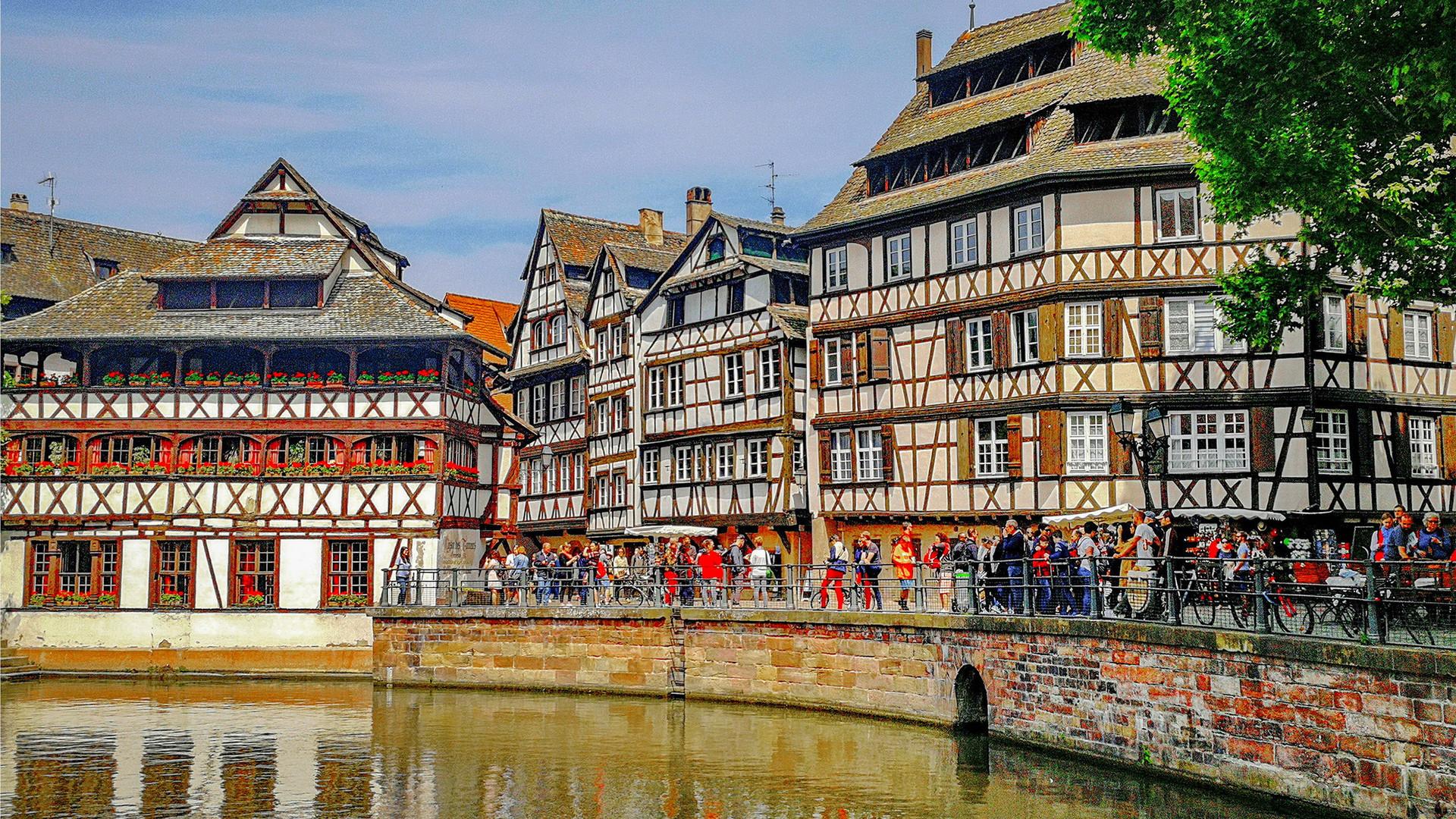 Маленькая Франция в Страсбурге