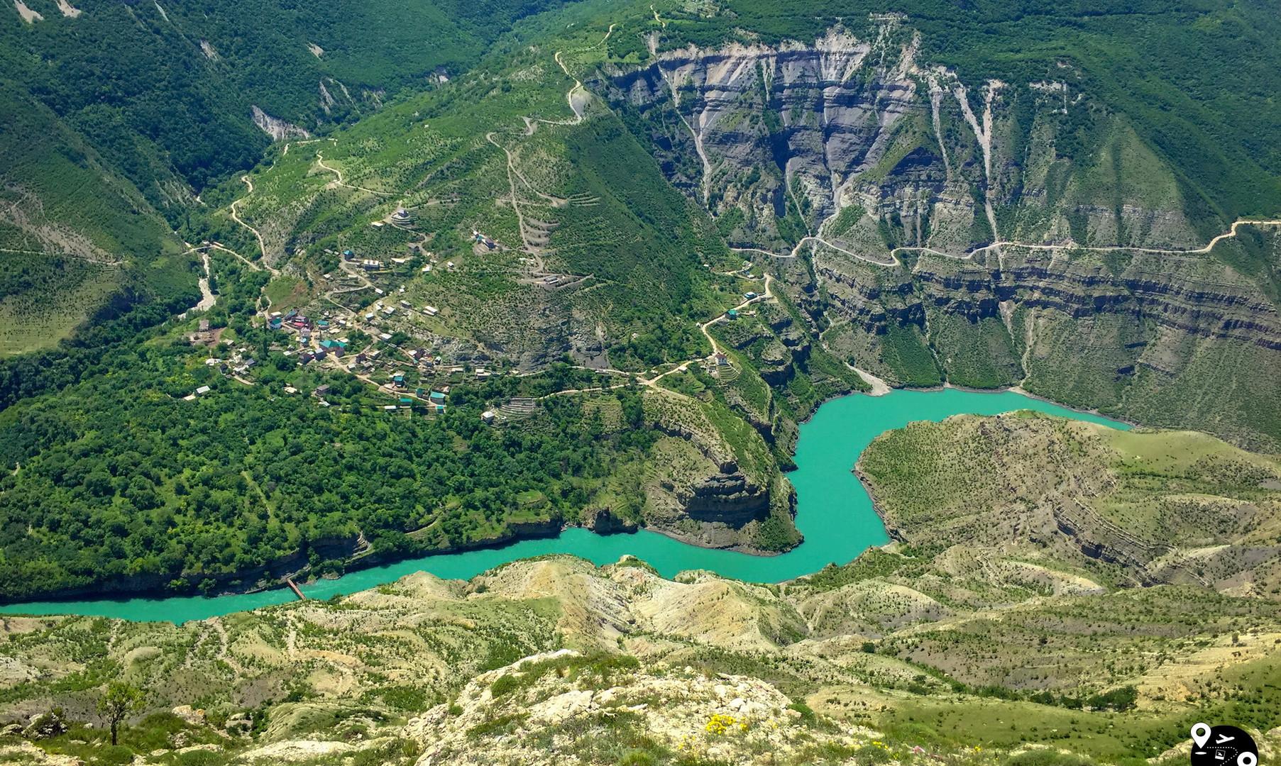 Сулакский каньон, Дагестан