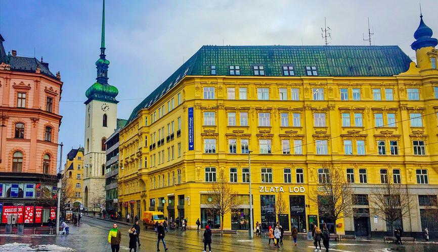 Центр города, Брно
