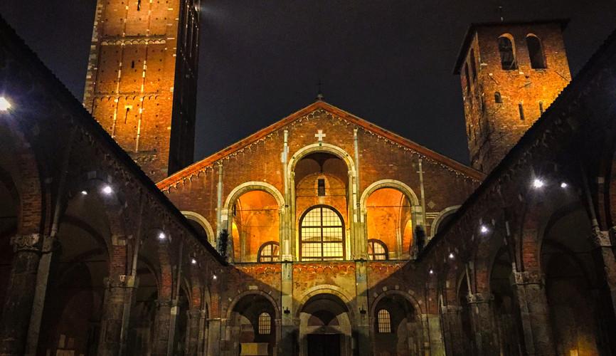 Амвросианская Базилика, Милан