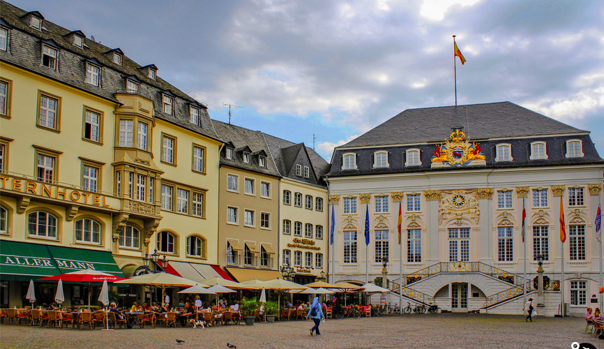 Рыночная площадь в Мюнстере