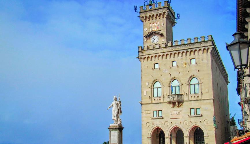 Президентский дворец в Сан-Марино