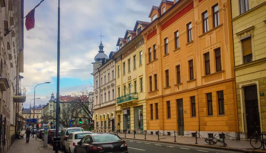 Центр города Любляна