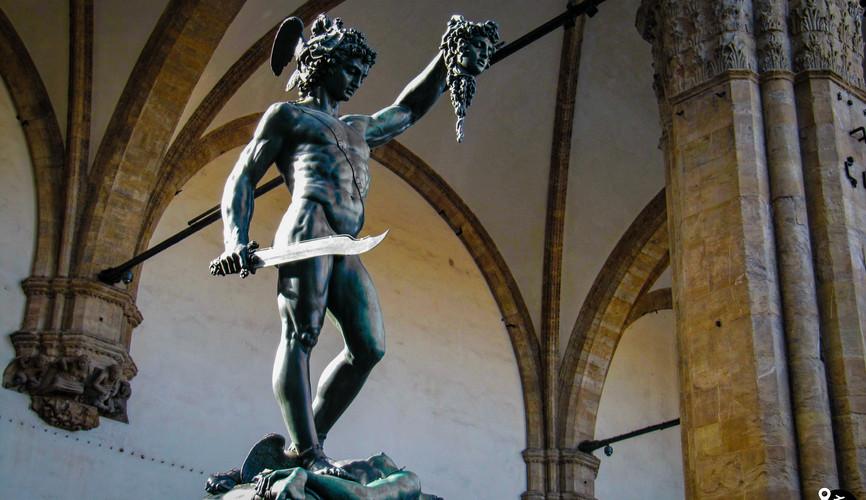 Скульптура Геракла, Флоренция