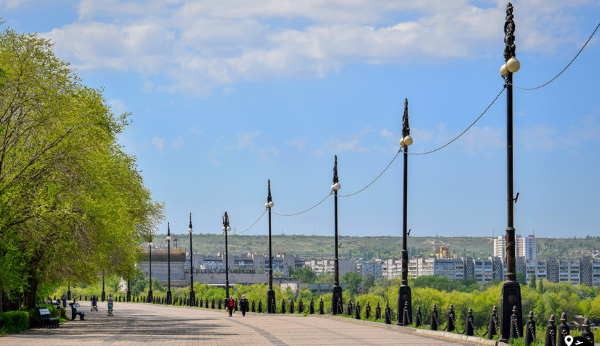 Набережная Волго-Донского канала, Волгоград