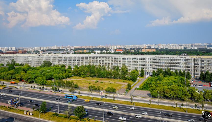 Самый длинный дом в Москва
