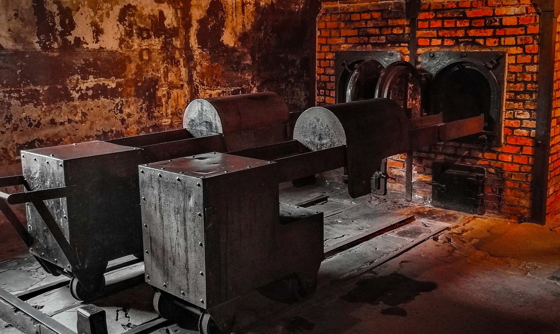 Печи для сжигания тел, Аушвиц-1