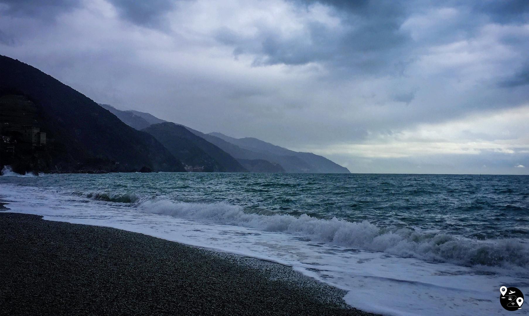 Пляжи Монтероссо, Чинкве-Терре
